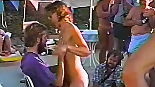 Group Of Swingers Enjoy A BBQ - Swingers in Action.