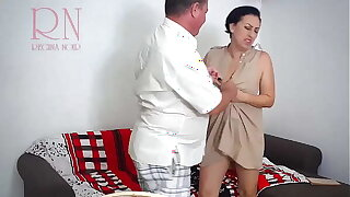 Undress the Slave. Make the girl undress. Submissive woman. Part 1